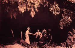 Early 20th Century Glowworm Cave Tour